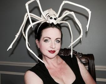 BORIS the SPIDER  Headdress Hair Adornment ooak