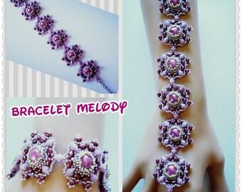 Tutoriel pas à pas du bracelet Melody