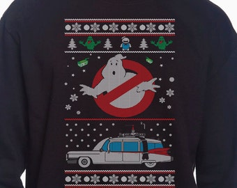 Ghostbusters Ugly Sweater Sweatshirt