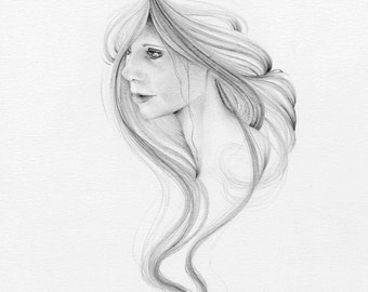 Custom Portrait from Photo Wife Photo Gift Custom Portrait Hand Drawn Art  Drawing Illustration of Your Wife from Photo Wife Photo Gift