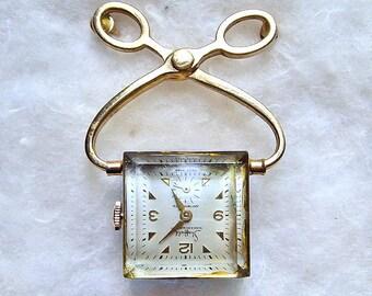 Vintage Sheffield Watch Pin