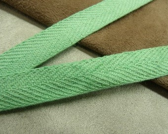 Green Ribbon, 15mm, ideal for decoration, and all seams