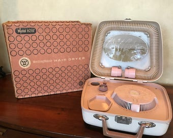 Vintage Westinghouse Hair Dryer and Nail Dryer
