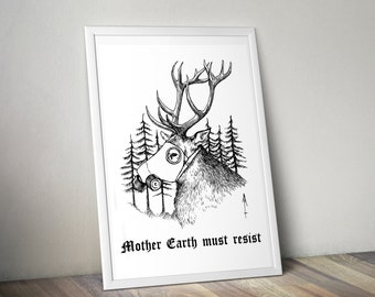 Mother Earth must resist