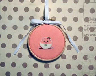 All Dressed Up Embroidery Hoop