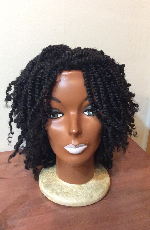 Braided Wig -Kinky Twist Diva 1B