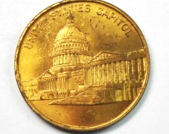 United States Capitol Building Washington D.C. 29mm 1793
