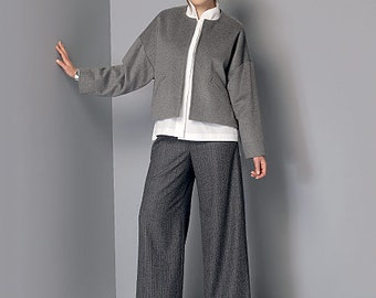 OUT of PRINT Vogue Pattern V9162 Misses' Jacket, Shirt and Pants