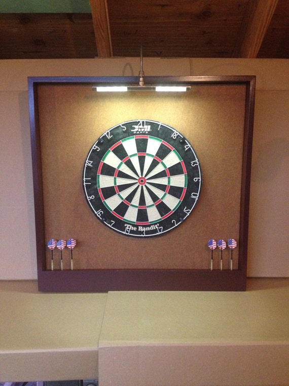 Oversized 32 x 32 led lighted copper felt for Diy dartboard lighting