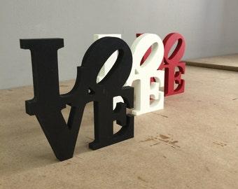 Mini Love Park Sign