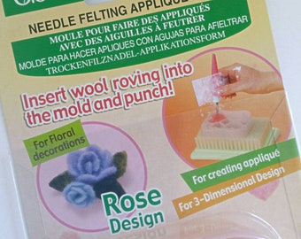 Needle felting applique mold - needlefelting tools - australia