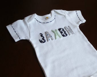 Baby Shower Gift, Baby Gift, Baby Boy Clothes, Personalized Baby, Personalized Gift, Coming Home Outfit, Newborn Gift,  Unique baby Gift