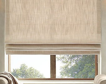 Custom Lined Roman Shade *Labor Only