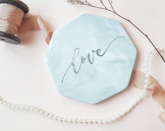 Custom Marble Tile Calligraphy
