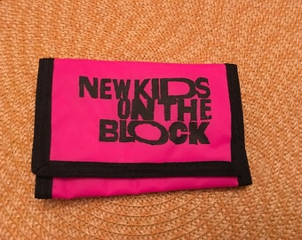 New Kids on the Block Wallet - Circa 1990