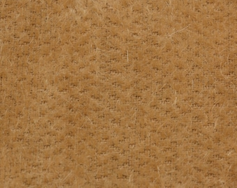 """10% OFF:  English Mohair Fabric, Gold, Straight, 8mm Pile, Size 17 x 27"""" 50001042"""