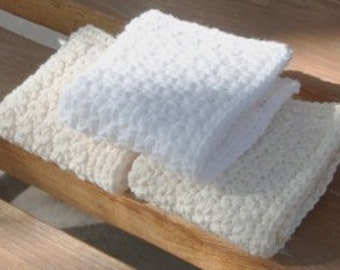 cotton wash cloths