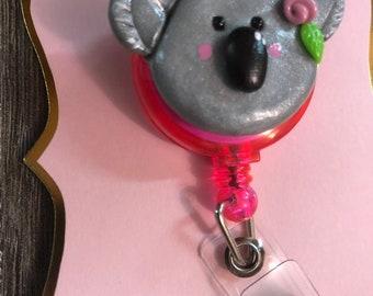 Koala Bear badge reel