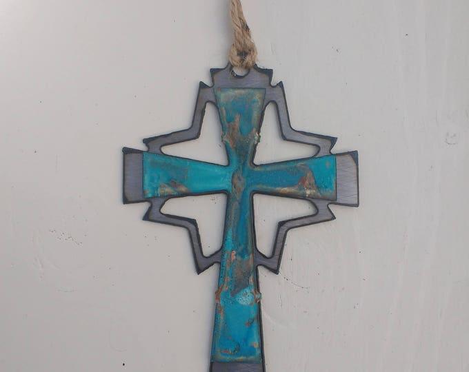 Patina Mid-Century Cross Ornament