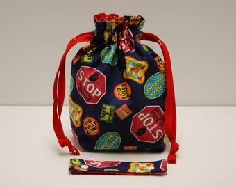 Take A Stand Drawstring Bag