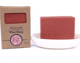 Cabernet Sauvignon - Natural handmade wine soap