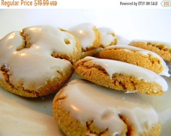 MEGA SALE The Ultimate Iced Molasses Cookies - The Little Ones - TWO Dozen (24 cookies)