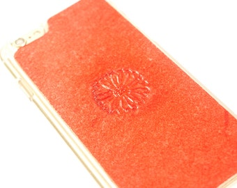iPhone 6s Case / iPhone 6 Case - Leather - Flower