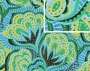 Oasis - OCEAN - PER 25CM - Amy Butler - HAPI - PWAB124 - 100% Cotton Quilt Fabric