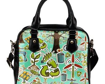 Environmentalist/Environmental Protection/Environmental Protection Campaign / Shoulder Bags / Handbags - Gift For Environmentalist