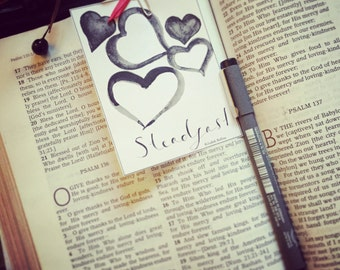 3 Printable Journaling Cards - Steadfast Love Collection
