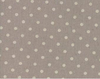 Linen Mochi Dot Putty 32910 22L by Deb Strain for Moda Fabrics