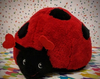 ladybug Weighted Stuffed lap pad 1 to 4 pounds Toddler Child Sensory Processing ADHD Anxiety