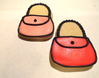 Shimmer Purse Favor Cookies
