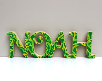 Personalized wooden name / custom painting