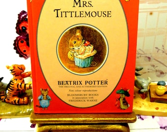 The Tale of Mrs TittleMouse First Edition Bloomsbury Book 1993 Beatrix Potter Childrens Story Ladybird Size