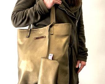 JOJO - leather day tote