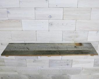 Barn Wood Shelf 9x36