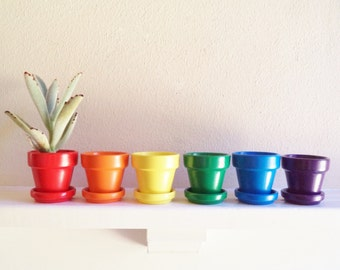 Terracotta pot sets