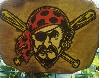Pirates Wood Burning