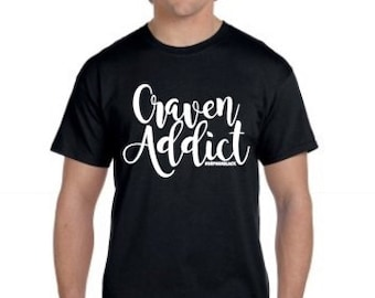 Orphan Black Craven Addict Tee Shirt