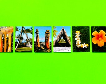 Aloha/Mahalo note card set