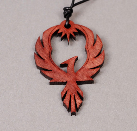 Phoenix pendant phoenix necklace firebird necklace like this item aloadofball Images