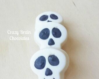 Mini Chocolate Skulls (12)