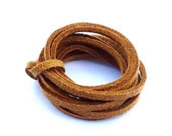 Caramel suede cord