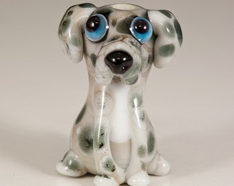 Great Dane Lampwork Dog Bead