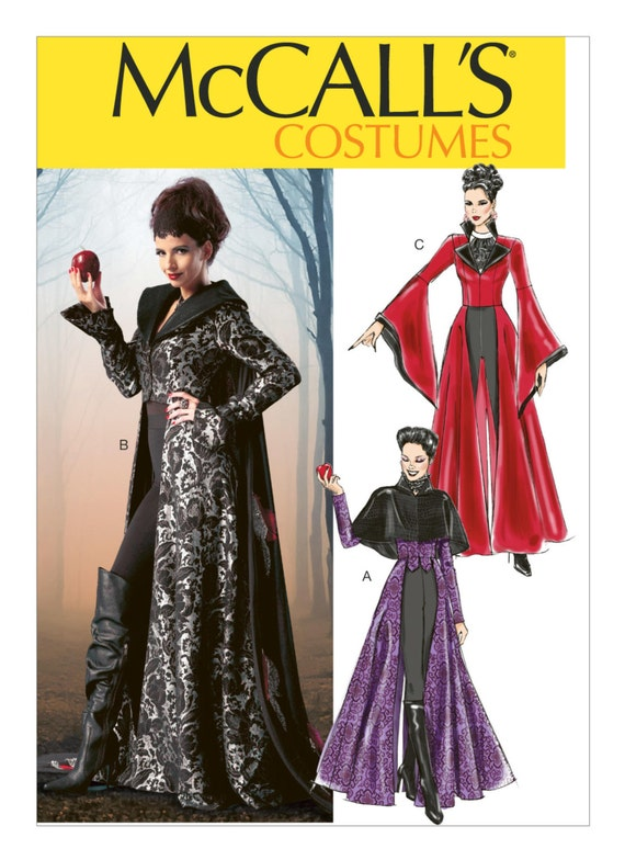 Sewing Pattern Misses Cosplay Costume,McCall\'s Pattern 6818 ...
