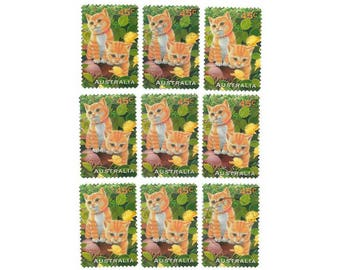 20 Australia cat stamps, used postage stamps