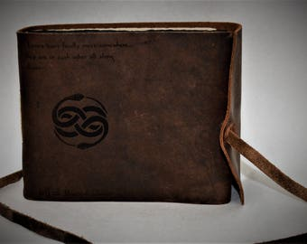 Guest Registry, Leather, Wedding Registry, Personalized, Diary, Notebook, Personalized Engraved Diary, Genuine Leather