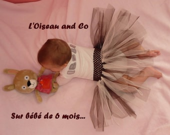 Tulle Tutu - fits baby up to 6/8 years approximately