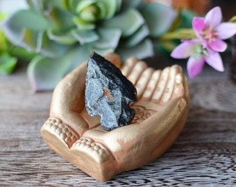 Black Arrowhead Ring